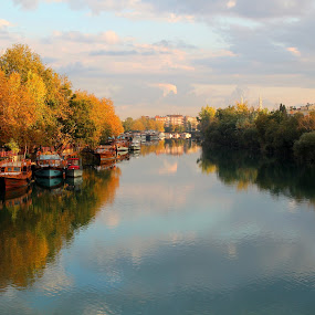 Yansıma by Recep Cenbek - Landscapes Waterscapes ( manzara, su, sonbahar, yansıma )