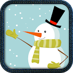 Kids Paint Christmas Cards Icon