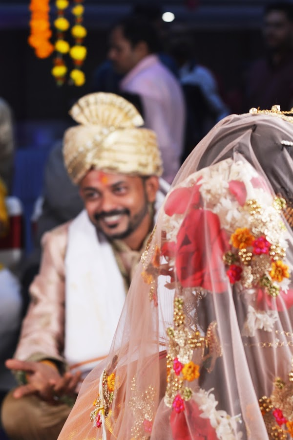 That smile is to die for. by Bibha Barssha Mohanty - Wedding Ceremony