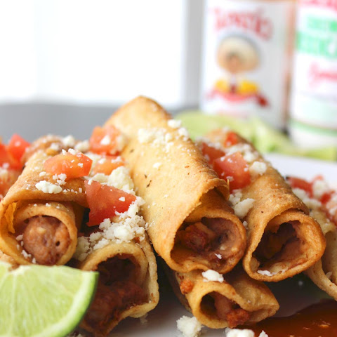 Easy Mexican Bean Taquitos