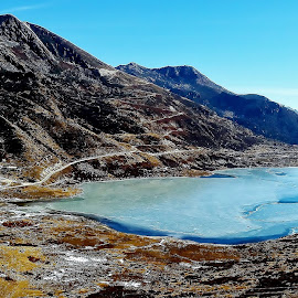 KUPUP lake ..Sikkim . INDIA  by Kamal Mallick - Instagram & Mobile Android