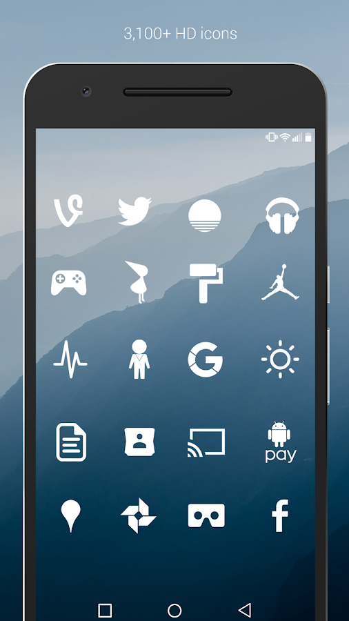 Flight - Flat Minimalist Icons Screenshot 1