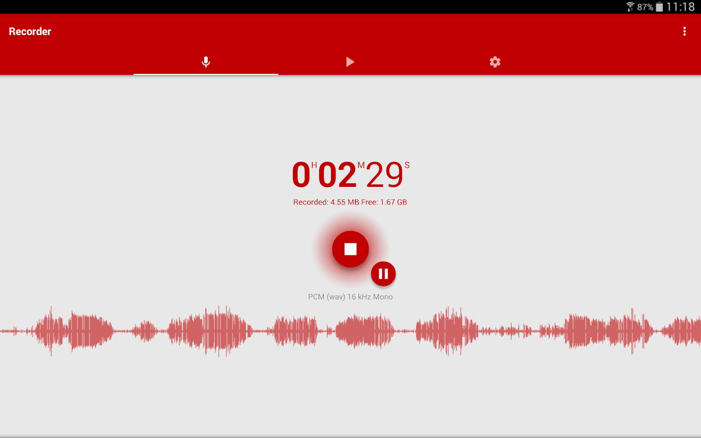 Voice Recorder Screenshot 11
