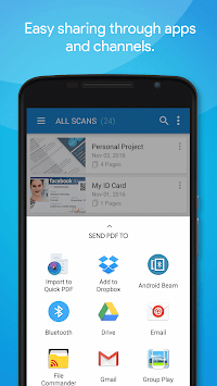 Quick PDF Scanner FREE APK screenshot thumbnail 8
