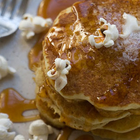 Buttered Popcorn Pancakes