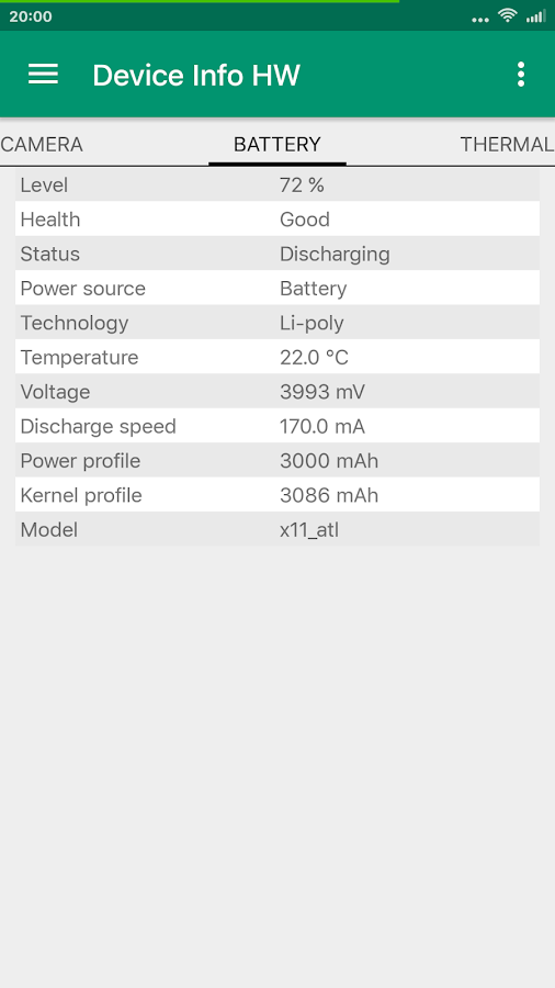 Device Info HW+ Screenshot 6