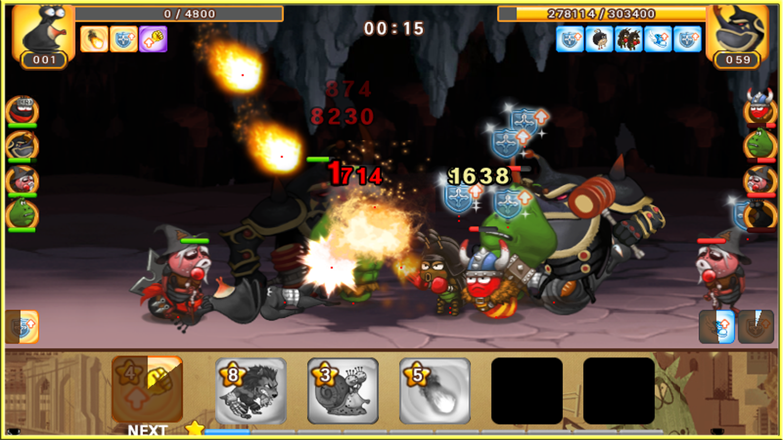 Larva Heroes : PVP Online Screenshot 19
