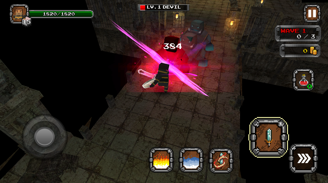 Pixel F Blade - Hack n Slash Screenshot 3