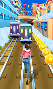 Game Subway Runner APK for Kindle