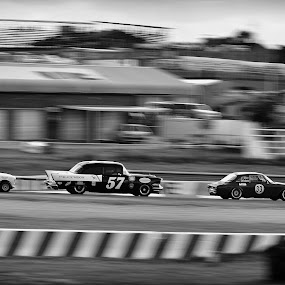 Classic Diversity by Jared Van Bergen - Sports & Fitness Motorsports ( automotive, panning, alfa romeo, chevrolet, speed, cars, b+w, beauty, mini, historic, motorsports, classic )