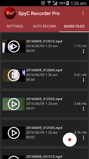 Secret Video Recorder Pro- SVR - screenshot
