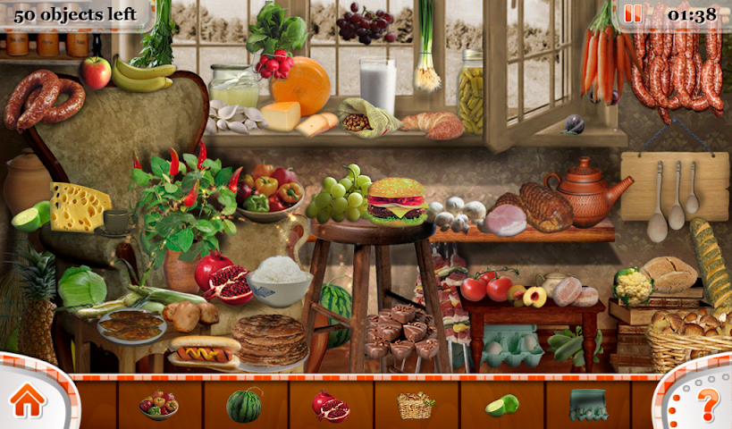 android Hidden Objects Food and Beyond Screenshot 11