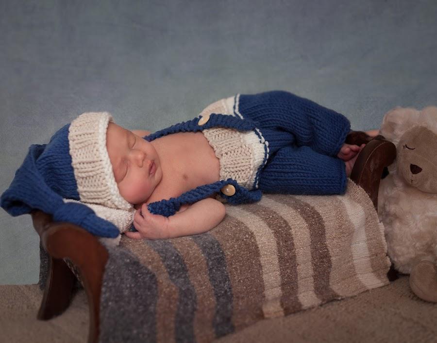 Mr. Sandman by Sandra Hilton Wagner - Babies & Children Babies ( baby, newborn, infant, sleepy, boy, sleeping, child,  )
