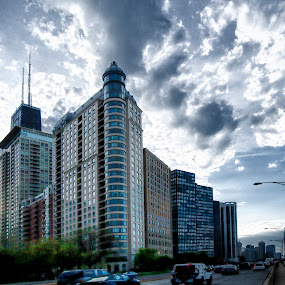 Chicago by Cristobal Garciaferro Rubio - Buildings & Architecture Office Buildings & Hotels ( clouds, sky, buildings, chicago, usa )