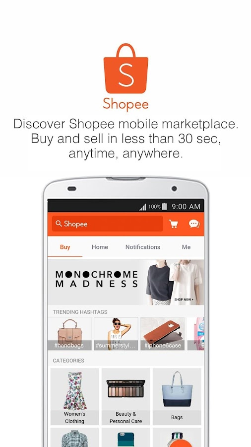 Shopee MY: Buy&Sell on Mobile Screenshot 0