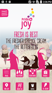 Pride & Joy Icecream - screenshot