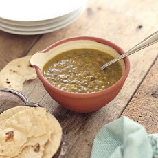 Black Lentil and Split Chickpea Dhal