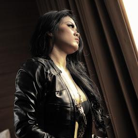 shade of glow by Rendy Yuninta - People Fashion ( luna, model, fashion, woman, photo )
