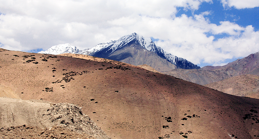 curves.....! by Yudhister Swami - Landscapes Mountains & Hills ( ladakh )