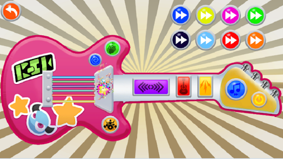 Pink Real Guitar for Kid - Music Kids