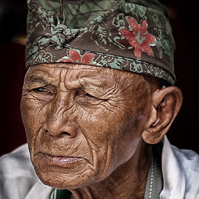 blank by Adie Photograph - People Portraits of Men ( senior citizen )
