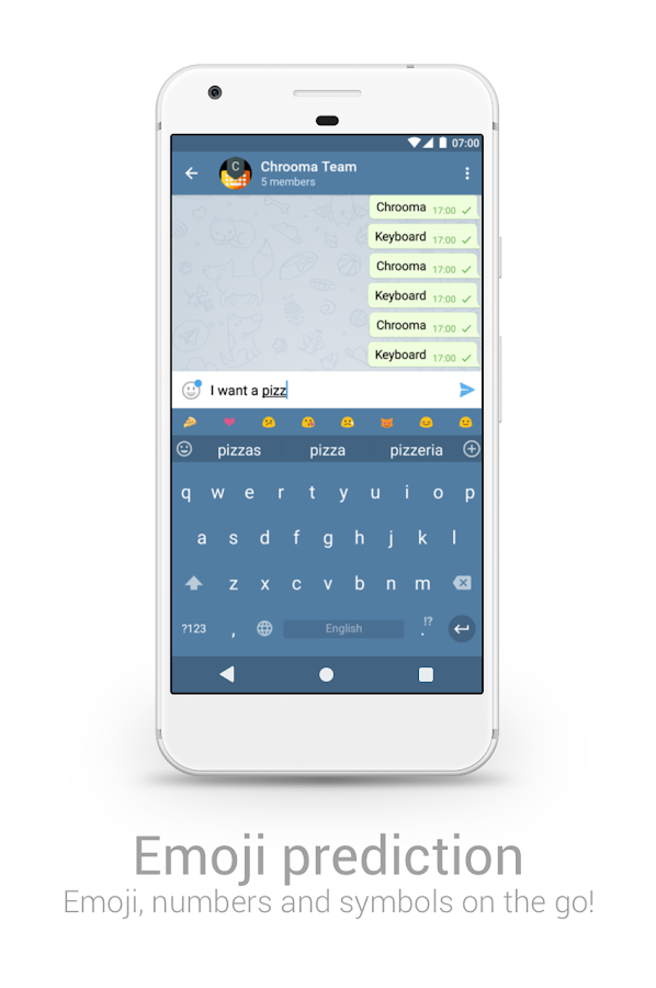Chrooma GIF Keyboard Screenshot 13