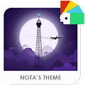 App Violet Night Xperia Theme APK for Kindle