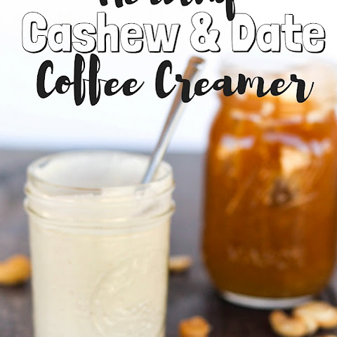Cashew & Date Healthy Coffee Creamer- Vegan/Paleo