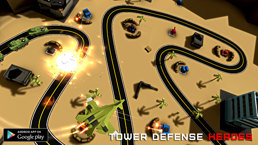 android Tower Defense Heroes Screenshot 1