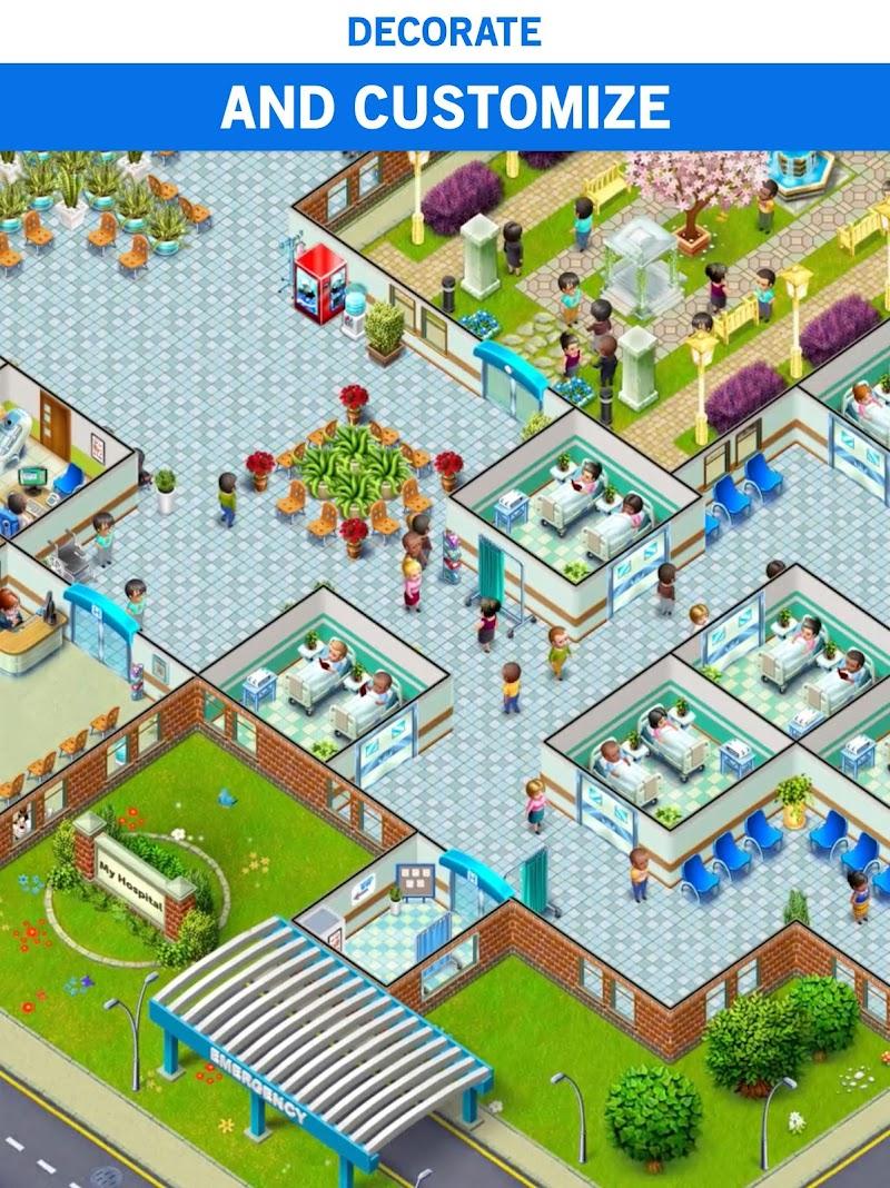 My Hospital: Build and Manage Screenshot 8