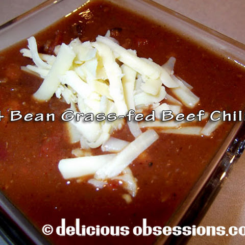 Four Bean Beef Chili