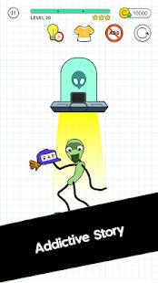 Happy Line Saga - Stop! Alien