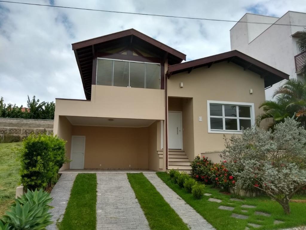 Casa com 3 dormitórios para alugar, 250 m² por R$ 3.650/mês - Condomínio Terras de São Francisco - Vinhedo/SP