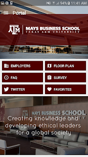TAMU BSC Career Fair - screenshot