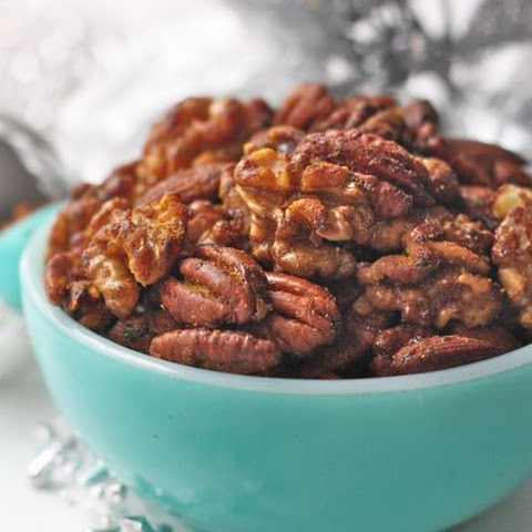 Curried Nuts With Honey