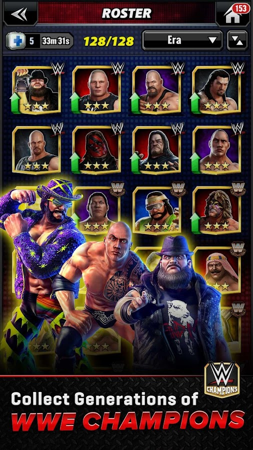 WWE Champions Free Puzzle RPG Screenshot 1