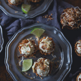 No Bake Coconut Lime Cheesecake Bites