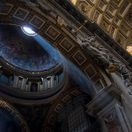 st. peters cathedral - rome by Ante Kante - Buildings & Architecture Public & Historical ( roof, decke, rom, rome, st. peters cathedral, petersdom )