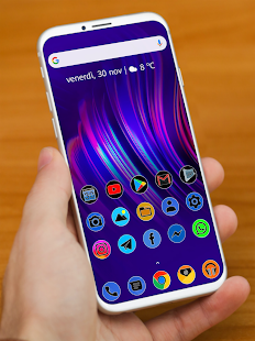 PIXEL FLUO - ICON PACK Screenshot