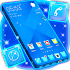 Glossy Blue Launcher Theme 1.264.1.28