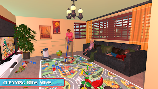 Virtual Mom Babysitter: Family Fun Time