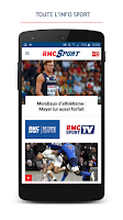 Screenshot of RMC Sport