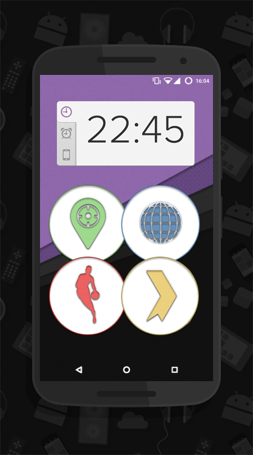 Garcia UI - Round Icons (Beta) Screenshot 0