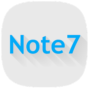 Note 7 - Icon Pack APK Cracked Download