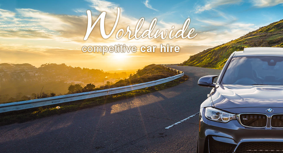 Worldwide competitive car hire services