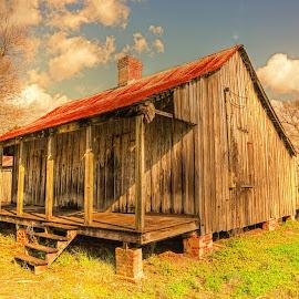 Cajun House by Ron Olivier - Digital Art Places ( cajun, house,  )