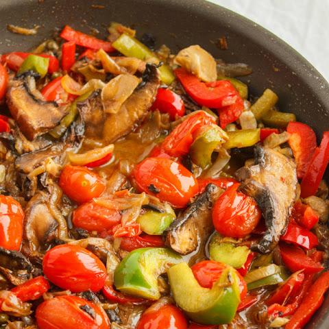 ... Hearts, Caramelized Onions and Roasted Portobello Mushroom Pasta