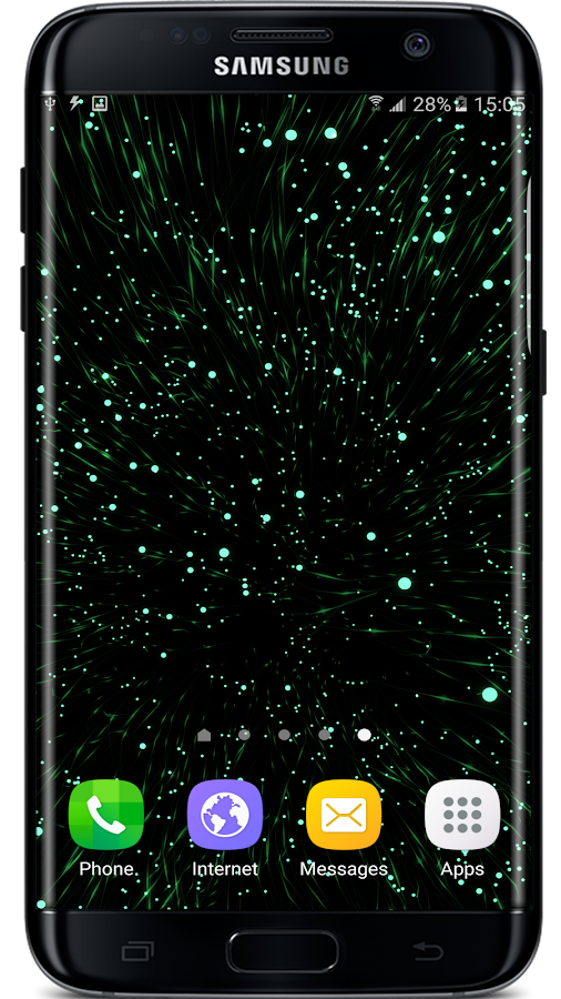 Gyro Particles 3D Live Wallpaper Screenshot 4