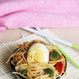 Egg Fried Noodles Recipe | Chinese Egg Fried Noodles