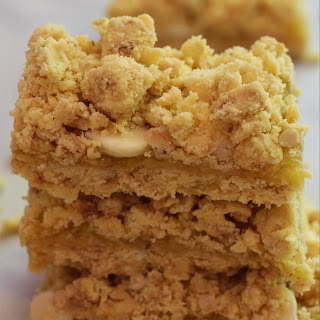 Lemon Pie Crumb Bars